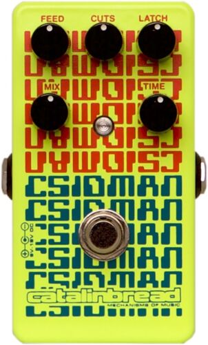 New Catalinbread CSIDMAN Stutter Glitch Delay Guitar Effects Pedal