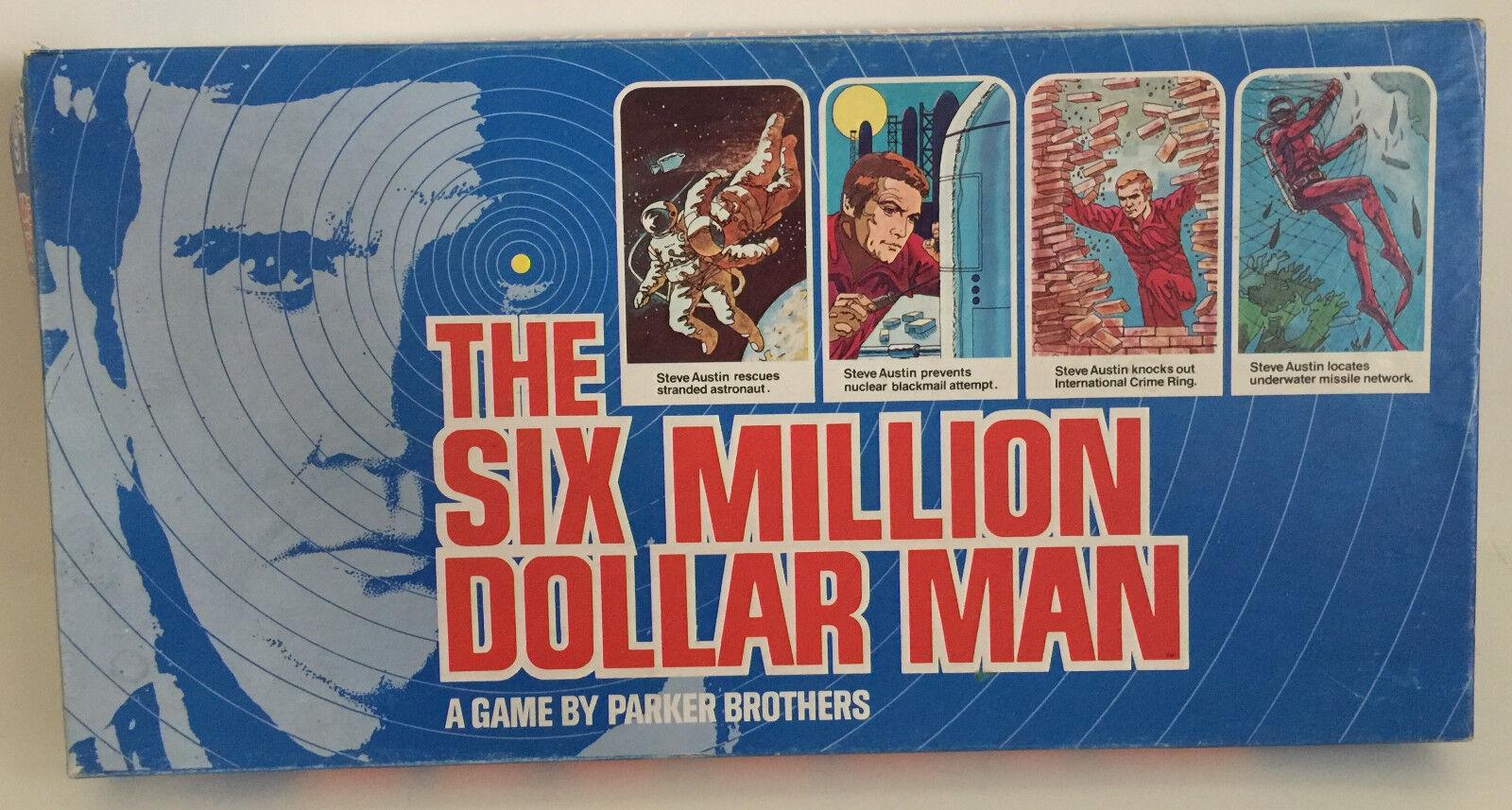 Der sechs - millionen - dollar - mann brettspiel steve austin lee majors jahrgang 1975 abgeschlossen