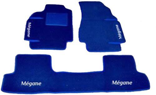 4decori+4 block RENAULT MEGANE TAPPETI AUTO SU MISURA