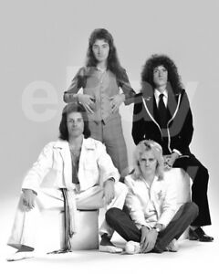 Queen-Group-Freddie-Mercury-Roger-Taylor-John-Deacon-Brian-May-10x8-Photo