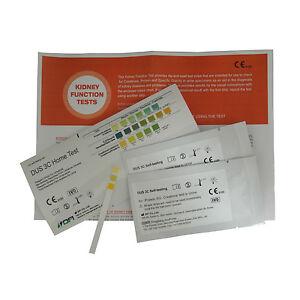 Kidney Function Tests - 10 x Home Urine Test Strips - 2 Per Foil 841695104846