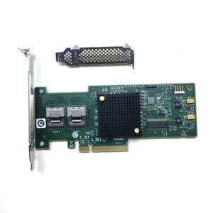 LSI SAS 9210-8i 8-Port 6Gb//s PCIe HBA RAID SATA Controller Card