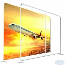 8x10ftstraight Booth Exhibit Show Tension Fabric Easy Tube Display Wall Stand
