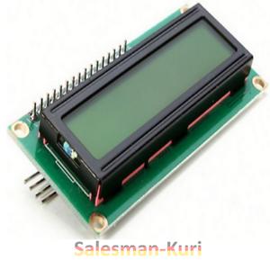 DE-Lager-LCD-Display-1602-16x02-Modul-amp-I2C-Interface-blau-amp-gelb-dimmbar