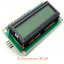 DE-Lager-LCD-Display-1602-16x02-Modul-amp-I2C-Interface-blau-amp-gelb-dimmbar Indexbild 1