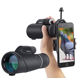 kalawen de alta potencia de Bak4 Prisma Con Telescopio Monocular Zoom 10-20x50 para adultos