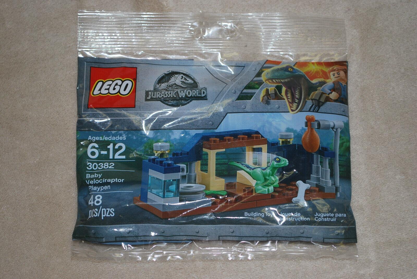 Lego Velociraptor Dinosaur Play Pen Promo Polybag 30382