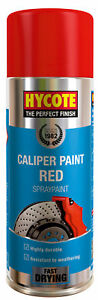 Hycote-XUK440-Brake-Caliper-Paint-400ml-Aerosol-Spray-Red-Fast-Drying-High-Gloss