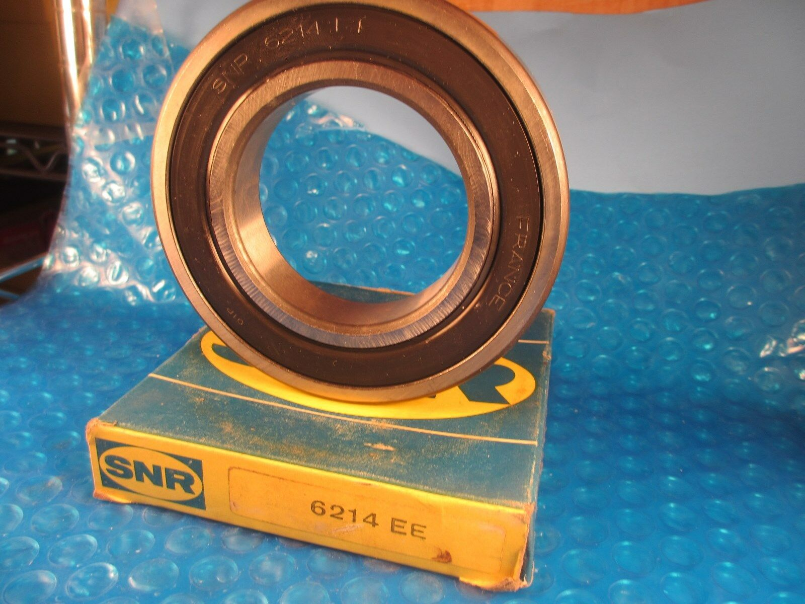 KML 6214-2RS 70mm X 125mm X 24mm Double Sealed Deep Groove Ball Bearing NEW!