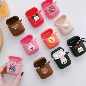 3D Cute Disney Cartoon Earphone Cover for Apple Airpods