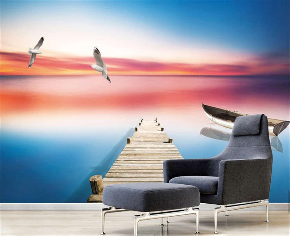 Decisive Clear Lake 3D Full Wall Mural Photo Wallpaper Printing Home Kids Decor