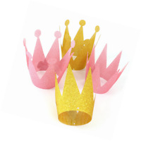 Gold Party Crowns, Kids First Birthday Party Hats For Party Decorations Supplies