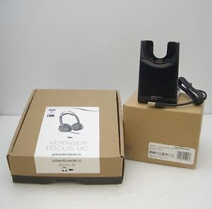 Plantronics-Voyager-Focus-UC-B825-M-Stereo-Bluetooth-Headset-PC-headset-Stand