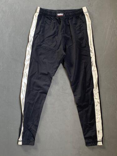 DKNY ATHLETIC Vintage Stretch Running Pants w/ Met