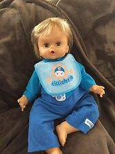 CICCIOBELLO DOLL baby LOVE N CARE CRIES RED FACE SNORES Rare??? See Details B5