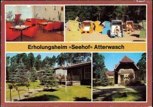 Ansichtskarte-Atterwasch-Schenkendoebern-Ferienheim-034-Seehof-034-1985