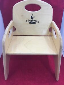 Attrayant Image Is Loading CHAIRRIES Jonti Craft Wooden Booster Seat High Chair