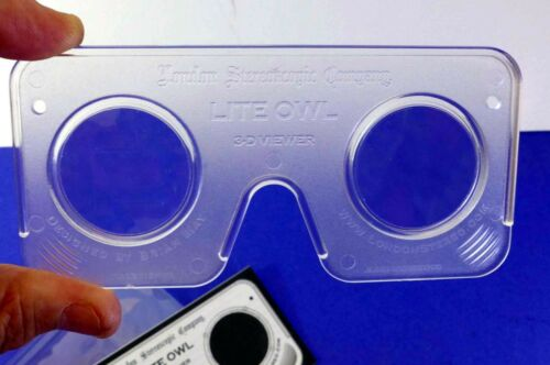 Must see! Lite OWL Stereoscope 3D print viewer by Brian May