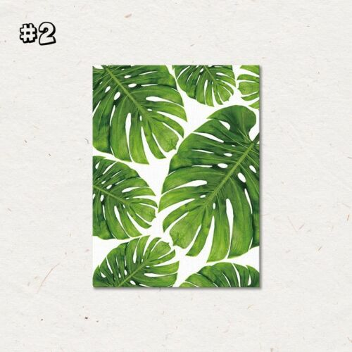 Canvas Print Plant Painting Wall Tropical Art Picture Unframed Poster Home Decor