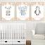 Safari-jungle-animaux-Nursery-Imprime-Set-de-3-Baby-Girl-Room-photos-Wall-Art miniature 2