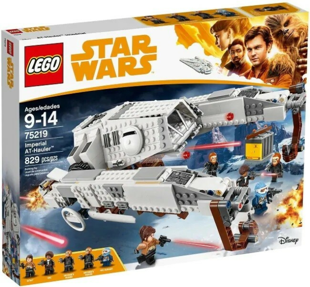 Lego Star Wars, 45219, Imperial AT-Hauler, Uåbnet  Kan…