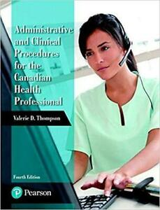 Administrative and Clinical Procedures for the Canadian Health Professional (4th Edition) Canada Preview