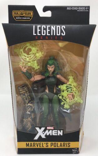 Marvel X-Men Legends Series Marvel/'s Polaris Build A Figure Marvel/'s Warlock