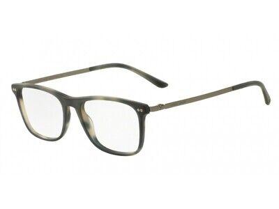Discreto Occhiali Da Vista Montatura Giorgio Armani Autentici Ar7126 Havana Blu 5575