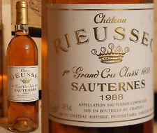 1988er Chateau Rieussec - Sauternes !!!!!!!!!!!!!