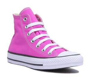 0513199cc439d Converse 159673C All Star Womens Bright Pink Canvas Trainer Size UK ...