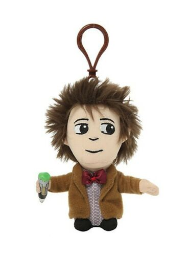"""DOCTOR WHO 11TH DOCTOR 4/"""" TALKING PLUSH WITH CLIP MATT SMITH NEW SOFT TOY"""
