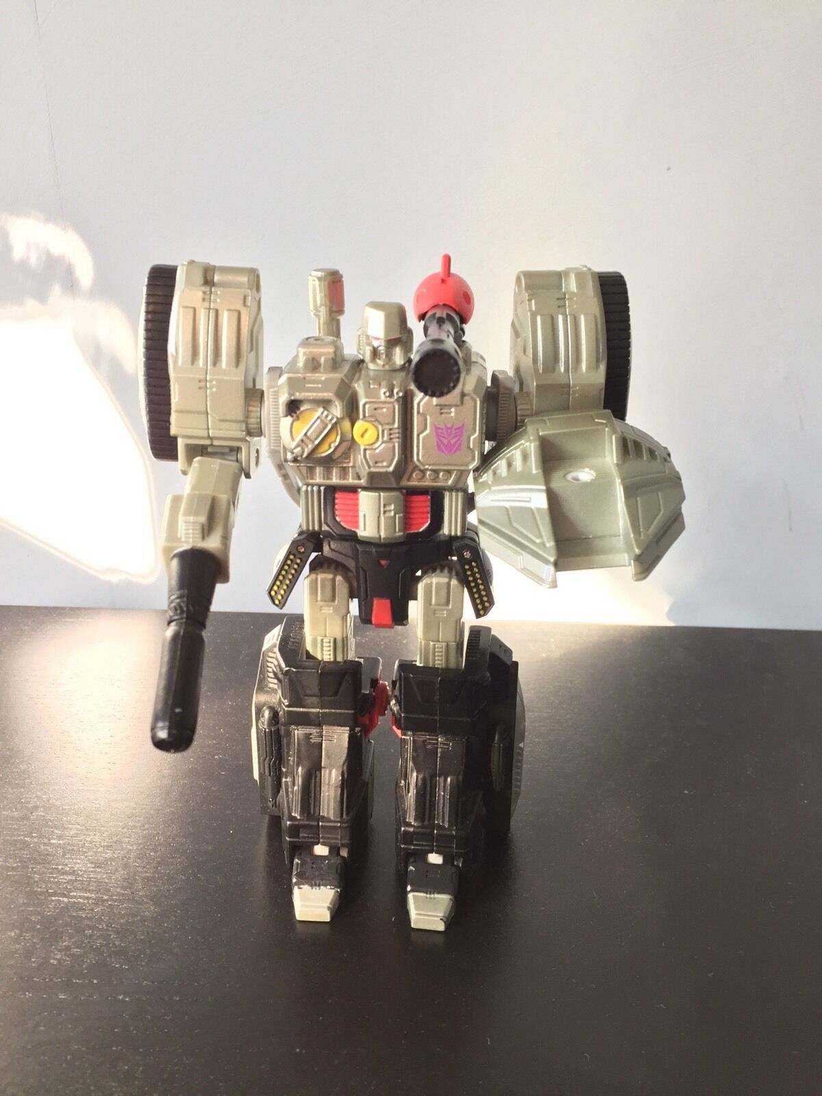 Transformers G1 Classic 6 6 6  Titanium Series Die-Cast Megatron Tank Figure [RARE] 9b34b8