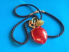 Pendentif Collier Fantaisie Fraise / Strawberry Pendant Necklace