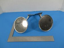 Vintage Chevy Bow Tie Hot Rod Rat Rod Chrome Umatched Round Side Mirrors VS8