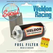 Weldon Racing Weq12100ssn 12 Orb 100 Micron Stainless Filter Assembly