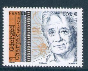 TIMBRE-5034-NEUF-XX-TTB-GEORGES-CHARPAK-PHYSICIEN-PRIX-NOBEL-DE-PHYSIQUE