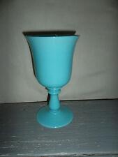 Vase/ coupe opaline bleu   Vase(Mud) / opaline cup(cutting) blue