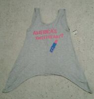 Electric Pink Stylish Tank Top, Size X Large, america's Sweetheart