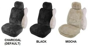SINGLE-27mm-SHEEPSKIN-ALL-OVER-CAR-SEAT-COVER-FOR-NISSAN-PULSAR-V-FWD-SEDAN