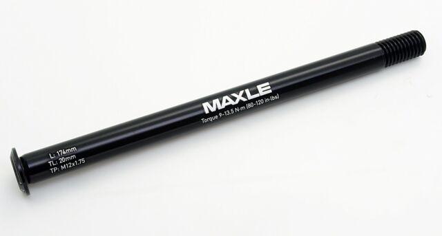 TP:M12x1.75 RockShox Maxle Stealth MTB Rear Axle 12x142mm L:174mm//TL:20mm