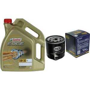 Inspection-Kit-Filter-Castrol-5L-Oil-5W30-For-VW-Golf-IV-1J1-1-4-16V