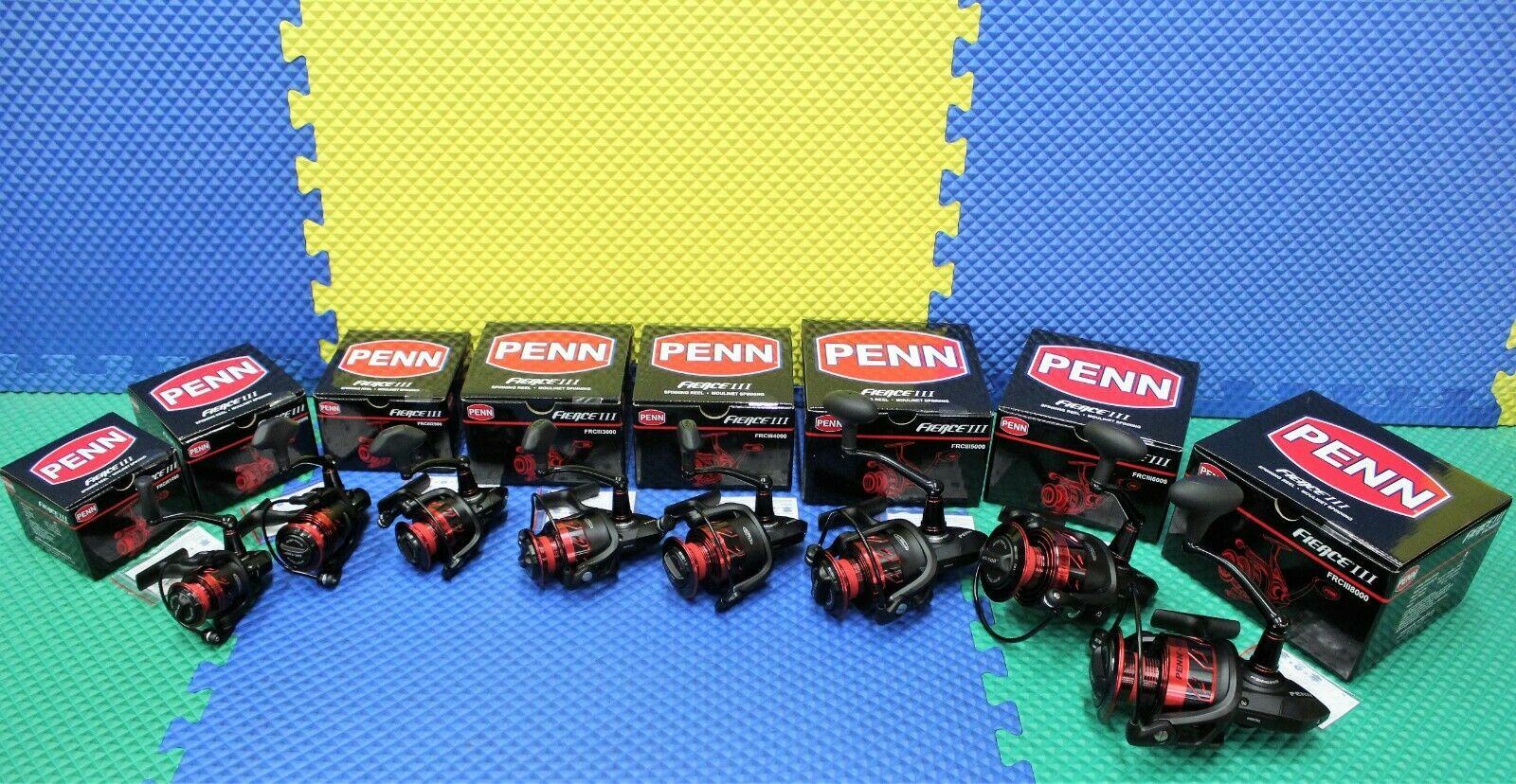 Penn Penn Penn fierceiii SPINNING NUOVE Bobine scegli il modellololo  ef1