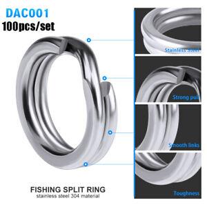 8-double-une-connecteur-de-poissons-les-034-l-039-acier-inoxydable-anneaux-de-peche