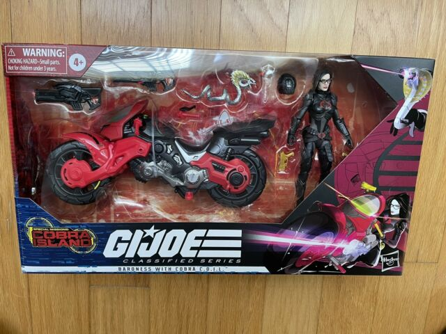 READ: GI Joe Classified Baroness Target Exclusive INCOMPLETE OPEN Missing Knife