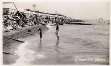 Aldwick Beach Chalets Nr Bognor Regis RP pc used 1933