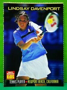Lindsay Davenport card 1999 Sports Illustrated For Kids #764