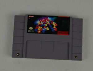 Tetris 2 Super Nintendo Cartridge 1992 Tested Working SNES