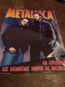 Magazine-Photos-METALLICA-Neuf