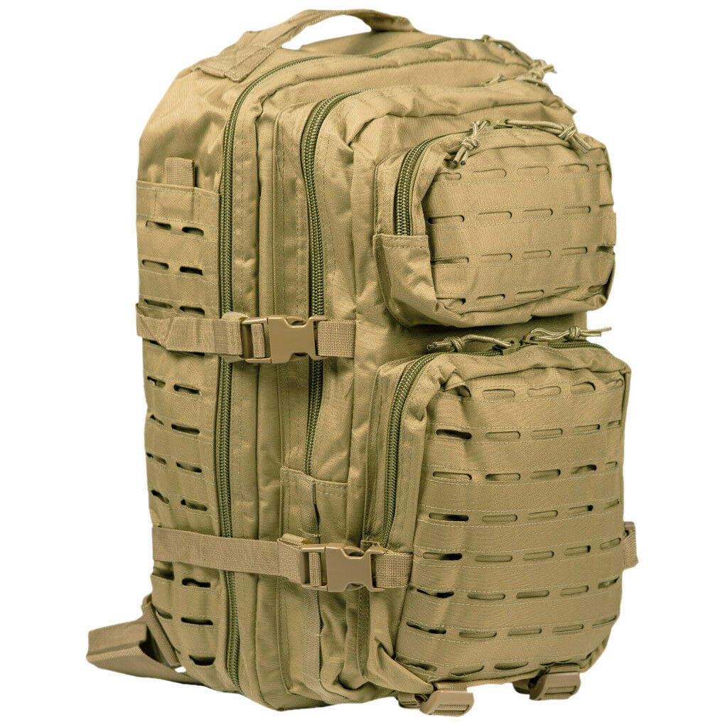 Grande US Assault Pack zaino MOLLE di pattuglia escursionismo zaino Laser taglio