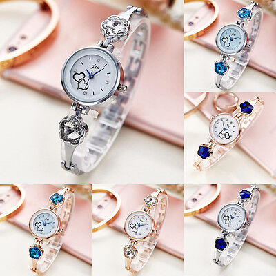 Fashion Rhinestone watches women Crystal Quartz Dail Bracelet Dress Wrist Watch